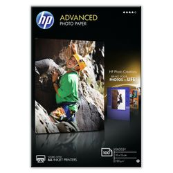 HP Advanced Photo Paper, glanzend, 100 vel, 10 x 15 cm randloos
