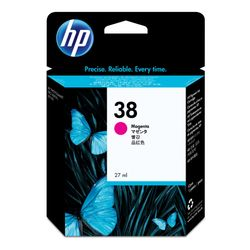 HP 38 originele magenta pigmentinktcartridge