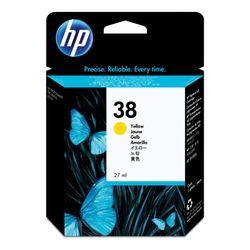 HP 38 originele gele pigmentinktcartridge