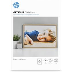 HP Advanced Photo Paper, glanzend, 20 vel, A3/297 x 420 mm