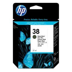 HP 38 originele matzwarte pigmentinktcartridge