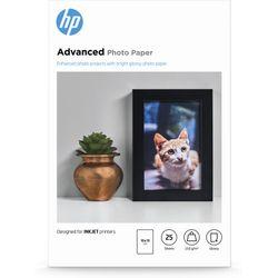 HP Advanced Photo Paper, glanzend, 25 vel, 10 x 15 cm