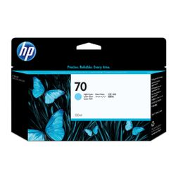 HP 70 licht-cyaan DesignJet inktcartridge, 130 ml