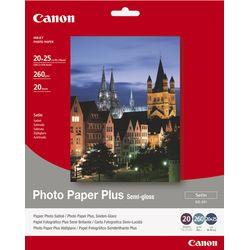 Canon SG-201 - 20x25cm Photo Paper Plus, 20 sheets pak