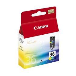 Canon CLI-36 Col Cyaan, Magenta, Geel inktcartridge