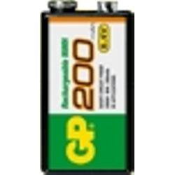 GP Batteries NiMH rechargeable batteries 200 9V 8.4V