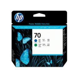 HP 70 blauwe en groene DesignJet printkop