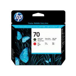 HP 70 matzwarte/chromatisch rode DesignJet printkop