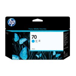 HP 70 cyaan DesignJet inktcartridge, 130 ml