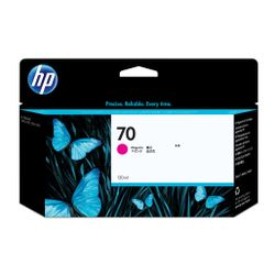 HP 70 magenta DesignJet inktcartridge, 130 ml