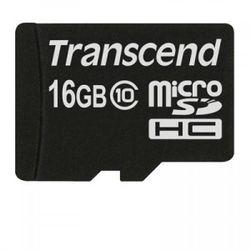 Transcend Micro SDHC 16GB flashgeheugen MicroSDHC MLC Klasse 10