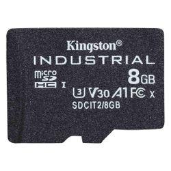 Kingston Technology Industrial flashgeheugen 8 GB MicroSDHC UHS-I Klasse 10