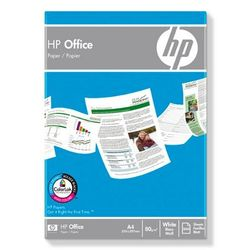 HP Office Paper-500 sht/A4/210 x 297 mm, 5 pack A4 (210×297 mm) Mat Wit papier voor inkjetprinter
