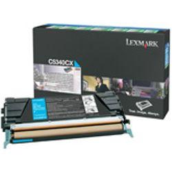 Lexmark C534 7K cyaan retourprogramma tonercartr.
