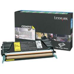 Lexmark C534 7K gele retourprogramma tonercartr.