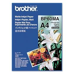 Brother BP60MA Inkjet Paper A4 (210×297 mm) Mat Wit papier