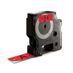 DYMO S0720870 Zwart op rood labelprinter-tape