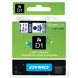 DYMO S0720510 Blauw op transparant labelprinter-tape
