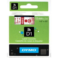 DYMO S0720520 Rood op transparant labelprinter-tape