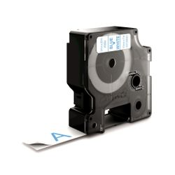 DYMO S0720840 Blauw op wit labelprinter-tape