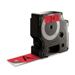 DYMO S0720970 Zwart op rood labelprinter-tape