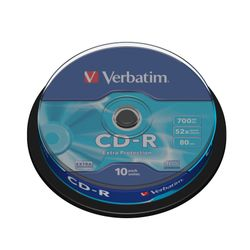 Verbatim CD-R Extra Protection CD-R 700MB 10stuk(s)