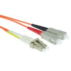 Advanced Cable Technology , LC, SC, Oranje, 1 m