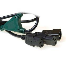 ACT 230V splitskabel C14 - 2 x C13