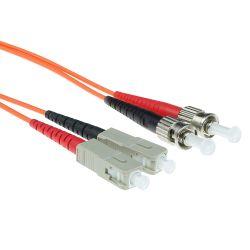 Advanced Cable Technology SC-ST 62,5/125µm OM1 Duplex fiber optic patchkabel 1 stk