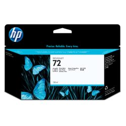 HP 72 zwarte DesignJet fotoinktcartridge, 130 ml