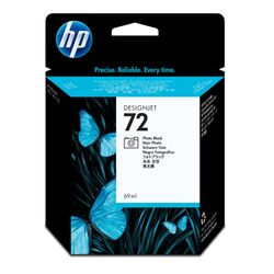 HP 72 zwarte DesignJet fotoinktcartridge, 69 ml