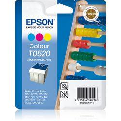 Epson inktpatroon kleur T0520 inktcartridge