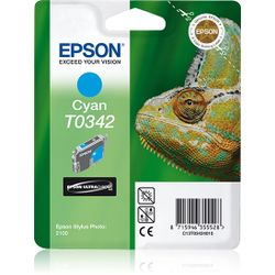 Epson inktpatroon Cyan T0342 Ultra Chrome