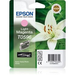 Epson inktpatroon Light Magenta T0596 Ultra Chrome K3
