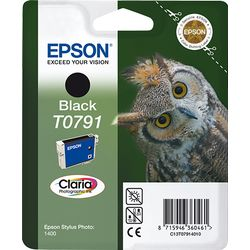Epson inktpatroon Black T0791 Claria Photographic Ink