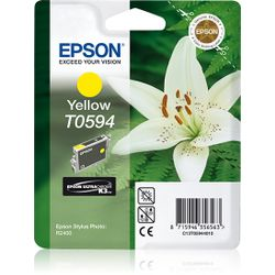 Epson inktpatroon Yellow T0594 Ultra Chrome K3
