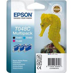 Epson Multipack 3-kleur T048C inktcartridge