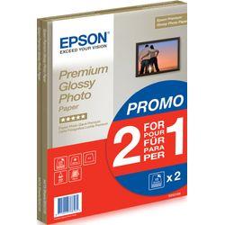 Epson Premium Glossy Photo Paper 2 voor de prijs van 1, DIN