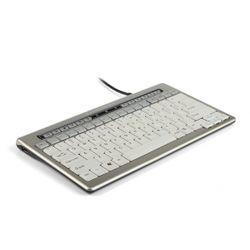 BakkerElkhuizen S-board 840 toetsenbord USB AZERTY Belgisch Grijs