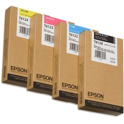 Epson inktpatroon Matte Black T612800 220 ml inktcartridge