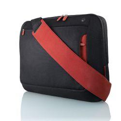 "Belkin Messenger Bag 17"", Jet/Cabernet 17"" Documententas Zwart"