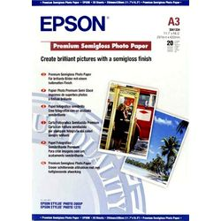 Epson Premium Semigloss Photo Paper, DIN A3, 251g/m², 20