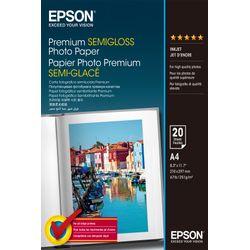 Epson Premium Semigloss Photo Paper, DIN A4, 251g/m², 20