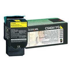 Lexmark C54x, X54x 1K gele retourprogr. tonercartr.
