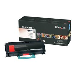 Lexmark E260, E360, E46x 3,5K tonercartridge