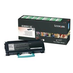 Lexmark E360, E46x 9K retourprogramma tonercartr.