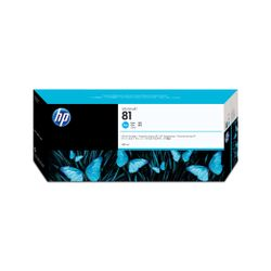 HP 81 cyaan DesignJet kleurstofinktcartridge, 680 ml