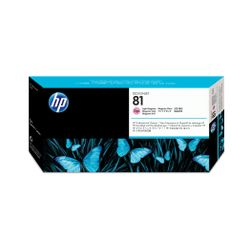 HP 81 licht-magenta DesignJet printkop en printkopreiniger voor kleurstofinkt