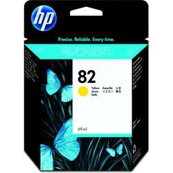 HP Inkt Cartridge no. 82 geel 69ml Designjet 500 & 800