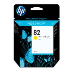 HP 82 gele DesignJet inktcartridge, 69 ml